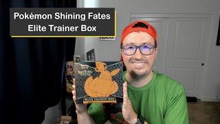 Pokémon Shining Fates Elite Trainer Box (ETB) Pack Battle!