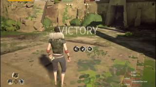 When the game glitches twice but you still win (Absolver 1v1 Week 1)