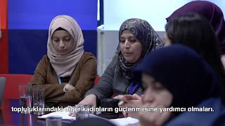 Syrian women help shape the first Global Refugee Forum