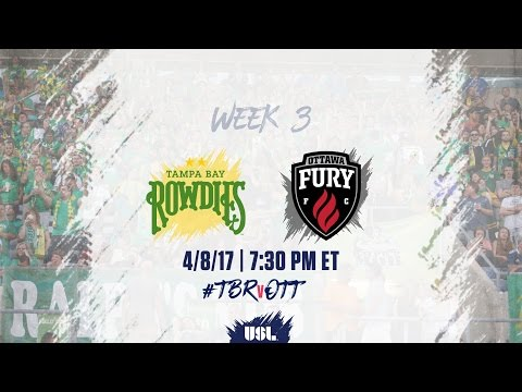 USL LIVE - Tampa Bay Rowdies vs Ottawa Fury FC 4/8/17