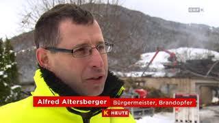 Stall abgebrannt, Tiere gerettet ORF Kärnten Heute