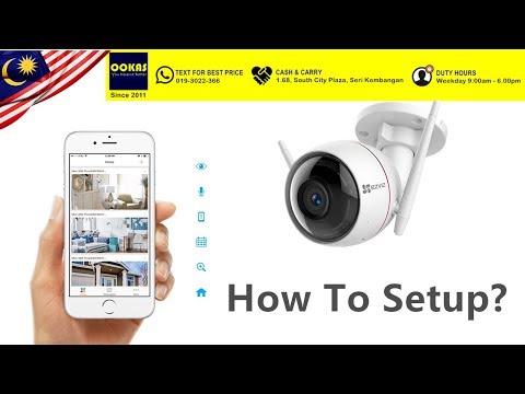 OOKAS - Setup tutorial of C3W IP66 Outdoor Sound & Light Defense IP Camera