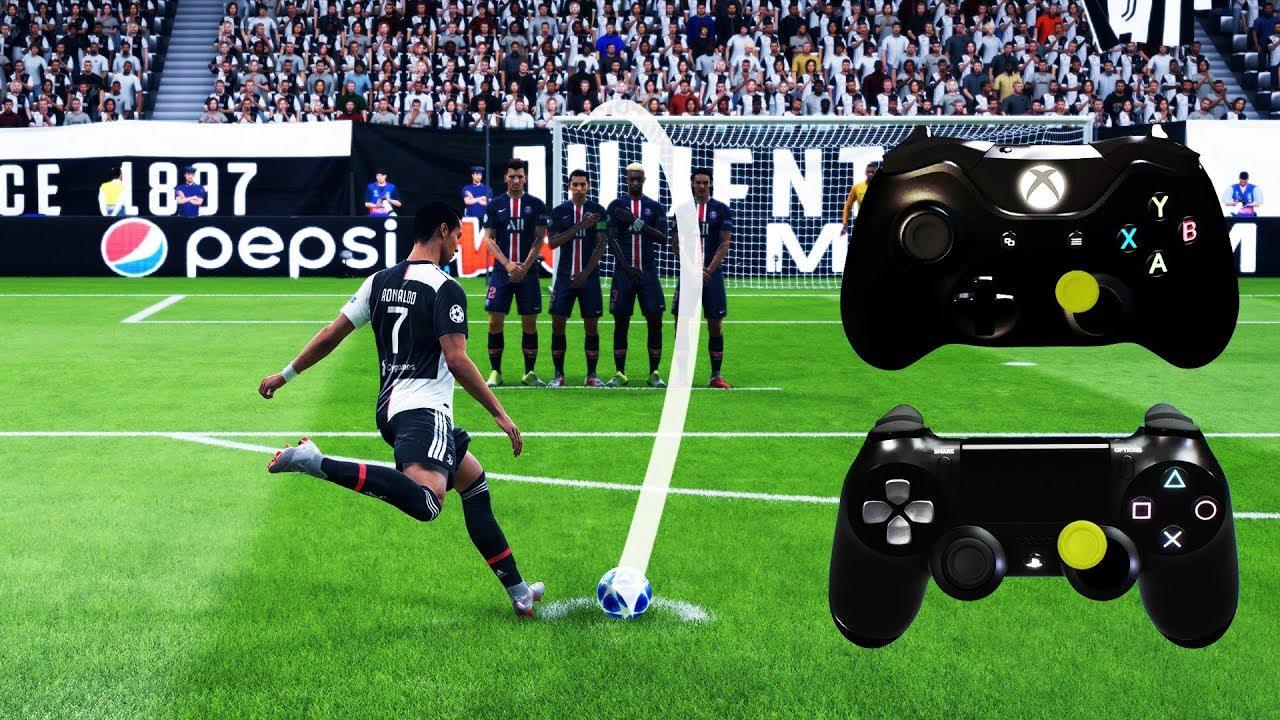 Fifa 20 All Free Kicks Tutorial Xbox Playstation 4k Youtube
