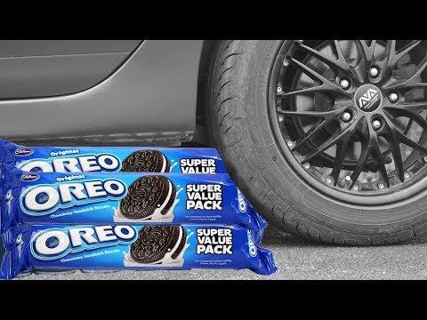 Car Vs Oreo EXPERIMENT