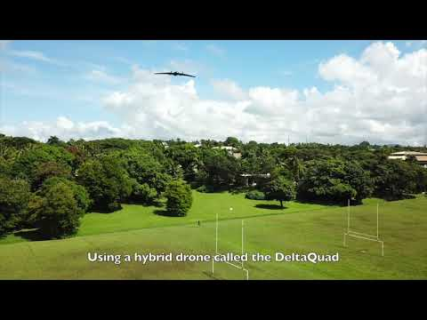 Cargo Drone Flight Demo in the South Pacific