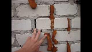 видео Как укрепить фундамент из блоков и ленточный