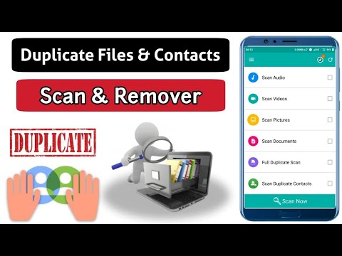 duplicate file fixer and remover