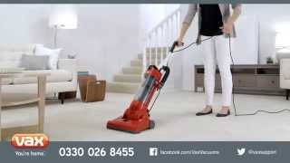 Introducing...Vax Energise Tempo Upright Vacuum Cleaner Range