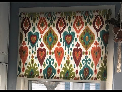 How to Make Pretty Roller Blinds