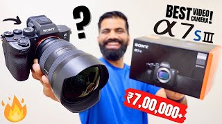 My Most Expensive Camera - Sony A7S III Unboxing amp First Look - Best YouTube Camera
