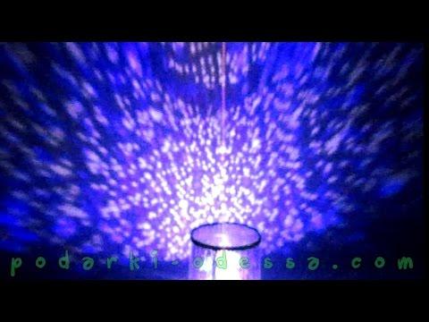 Ночник проектор звездного неба Star Master (Видео обзор) podarki-odessa.com