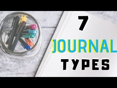 7-types-of-journals-|-types-of-journals-to-keep-2018