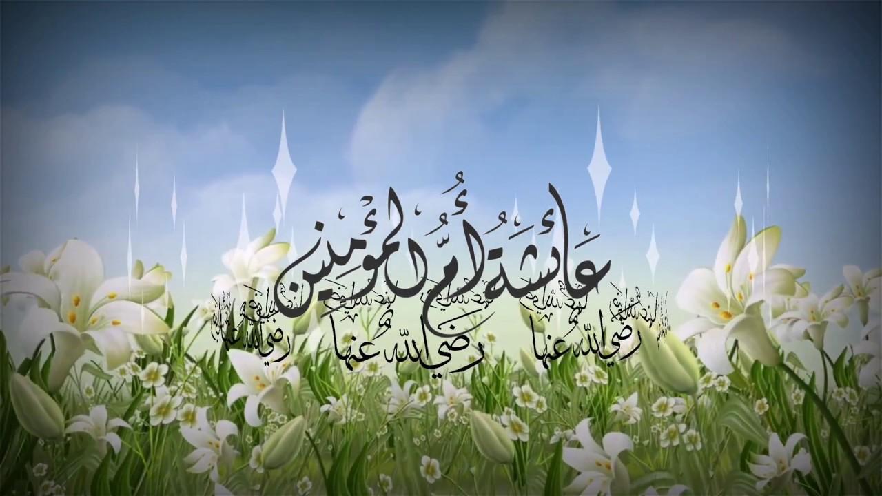 عائشة أم المؤمنين رضي الله عنها نايف الشرهان