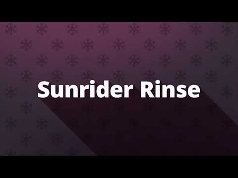Buy Sunrider Rinse Product At Healthy You Herbs