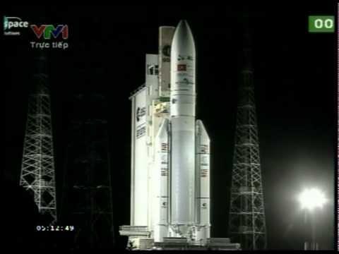 Quá trình phóng vệ tinh VINASAT 2 16/05/2012