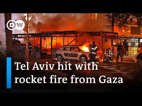 Hamas has launched rockets at Tel Aviv after a major Israeli