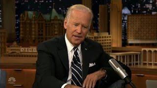 Biden talks Trump with Jimmy Fallon