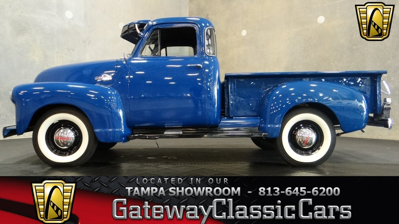 1951 Chevrolet Paint Colors Chevy Truck