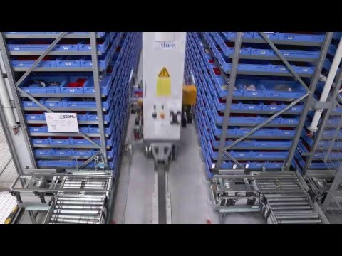 Automated Storage Solution with SAP and viadat at GROB