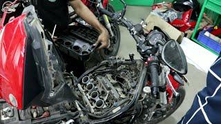 Video Benelli Rfs 150 Top Speed 156 kmph (motor Standard)?