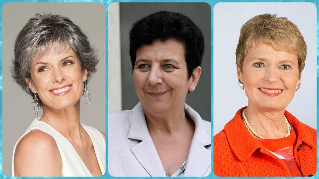 Tagli capelli corti donne 60 anni