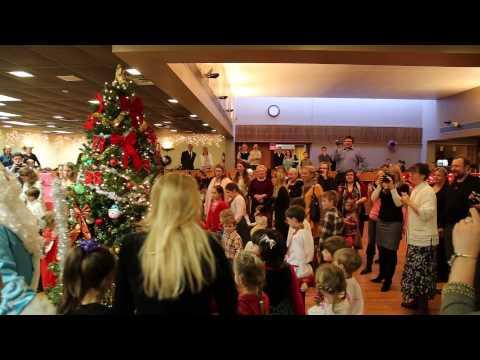 Boston Russian Orthodox Church Christmas Yolka 2014.