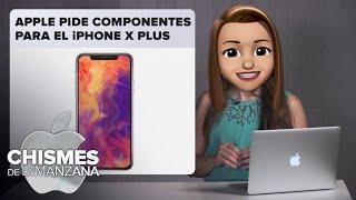 Apple pide menos componentes para el iPhone X Plus