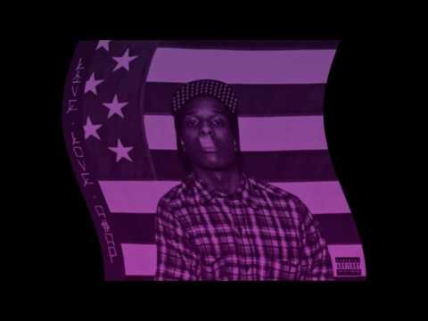 A$AP Rocky - Kissin' Pink feat. A$AP Ferg (Clean)