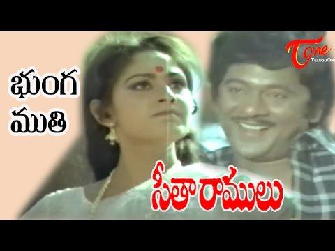 Seetha Ramulu Songs - Bunga Moothi - Krishnam Raju - Jaya Prada