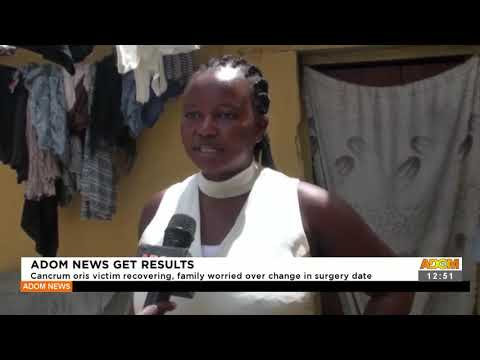 Cancrum oris victims recovering, family worried over change in surgery date -  Adom TV (21-9-21)