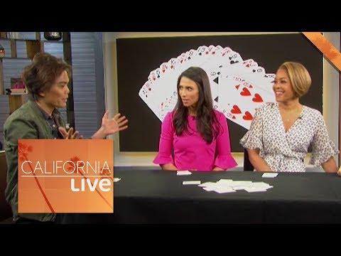 shin-lim's-crazy-card-trick-|-california-live-|-nbcla