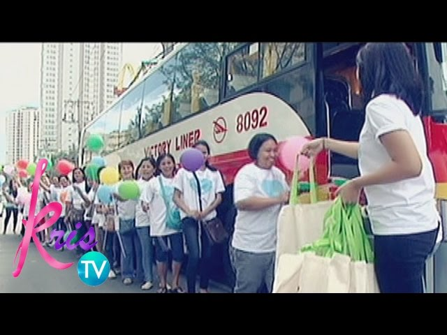 Kris TV: Kris TV family give love to our fellow Kapamilyas