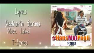 HANS MAT PAGLI KARAOKE WITH LYRICS
