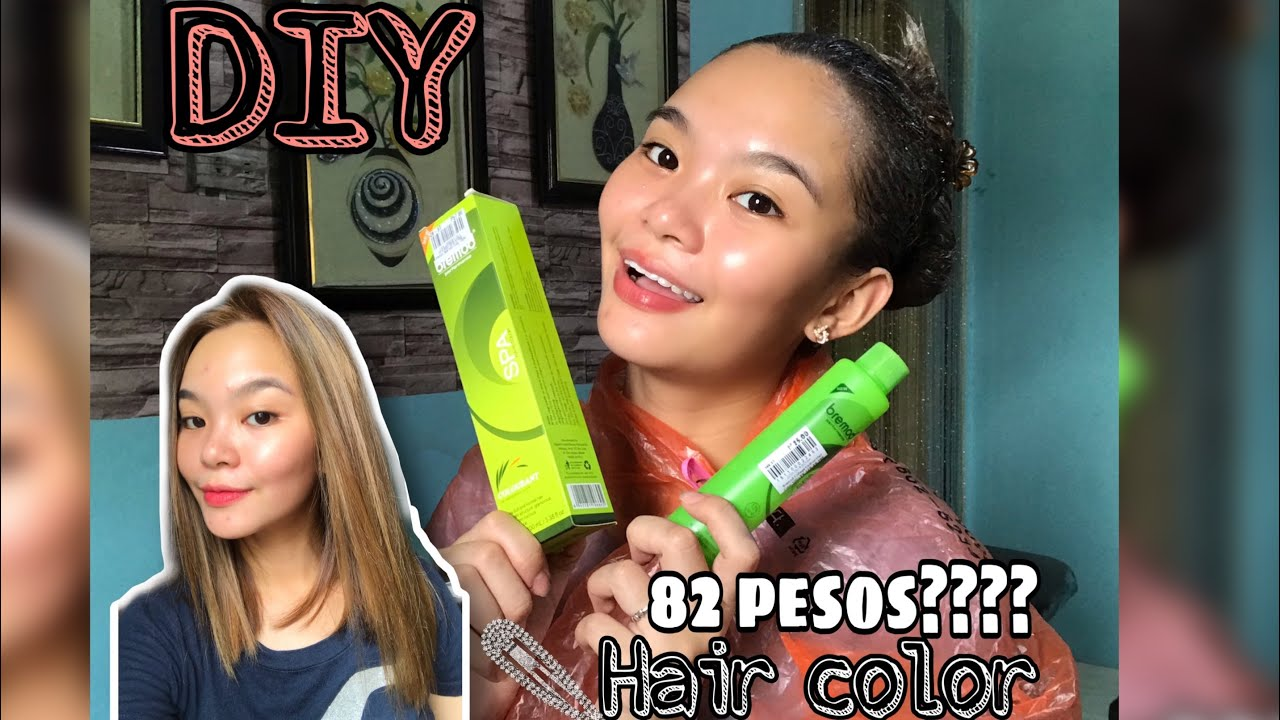 DIY TIPID HAIR COLOR (NO BLEACH) | BREMOD | PHILIPPINES | JHIMIL CAPS