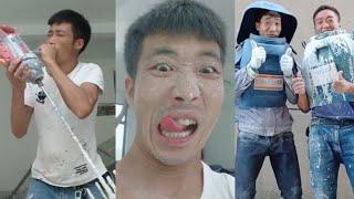 Mấy anh thợ sơn tếu lâm nhất hanh tinh tik tok 超級搞笑的刷牆哥 抖音小助手