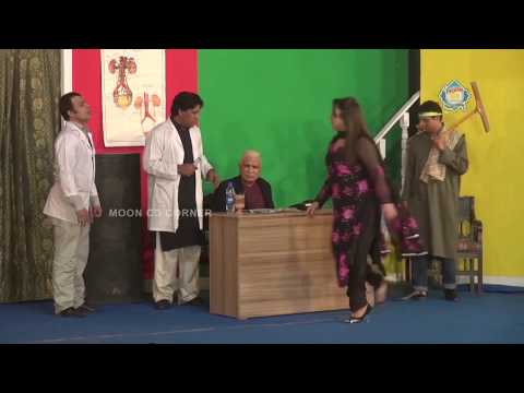 Best Of Birju Tharki Doctors  - New Pakistani Stage Drama  -  Full Comedy Clip 2017