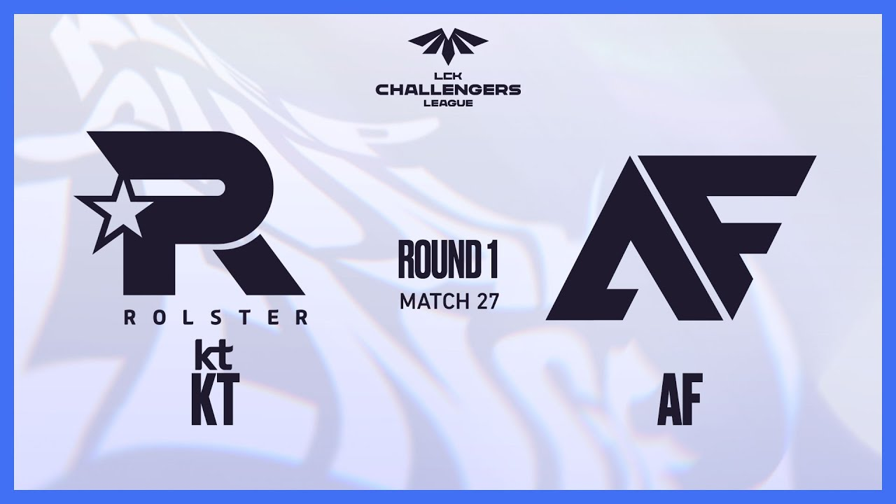KT VS AF | Match27 6.22 | 2021 LCK CL Summer