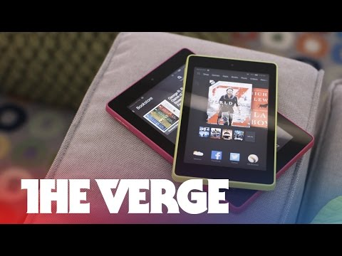 Kindle HD 6 and HD 7 hands on