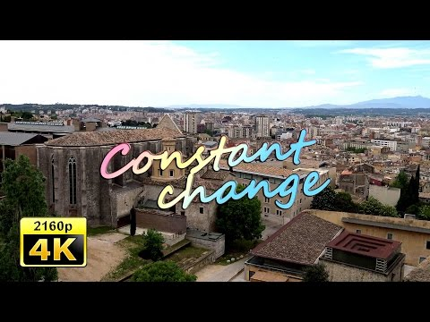 Girona, Arab Baths and Castle, Catalonia - Spain 4K Travel Channel