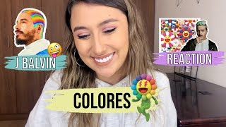 """REACTING TO J BALVIN'S NEW ALBUM """"COLORES""""    ALBUM REACTION *Made my quarantine 100 times better *🔥"""
