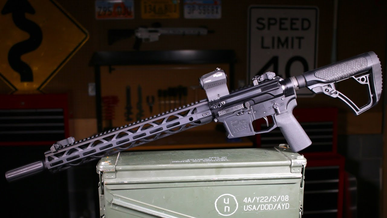 New Frontier Armory C-9 Side Charging AR9