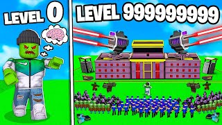 I BUILT A LEVEL 999,999,999 ROBLOX ZOMBIE TYCOON