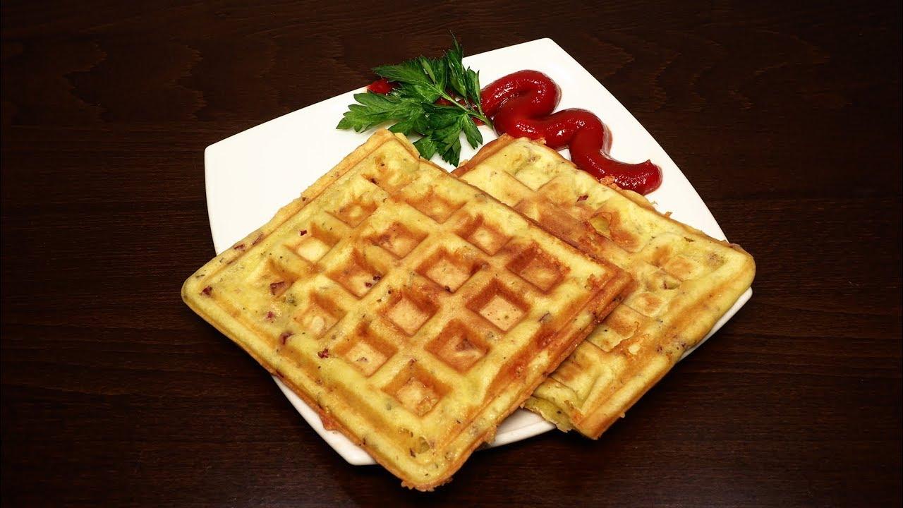 Простые вафли рецепт пошагово