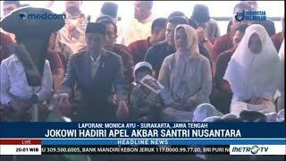 Jokowi Hadiri Apel Akbar Santri Nusantara thumbnail