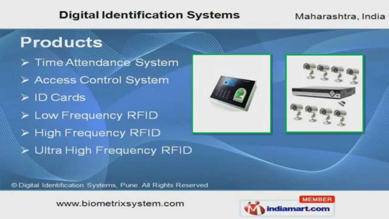 Time Attendance System by Digital Identification Systems, Pune