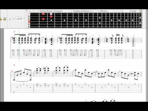 LEARN TO PLAY Metallica - Nothing Else Matters VIDEO GUITAR PRO / APRENDE TOCAR