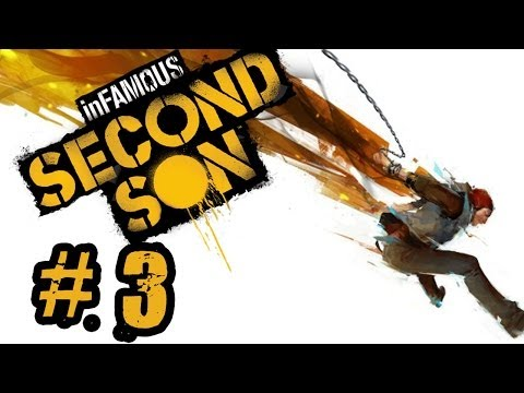Infamous Second Son- Ep:#3- Hello Seattle!