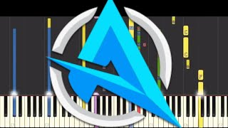 IMPOSSIBLE REMIX  - Ali-A Intro Theme Song - Piano Cover