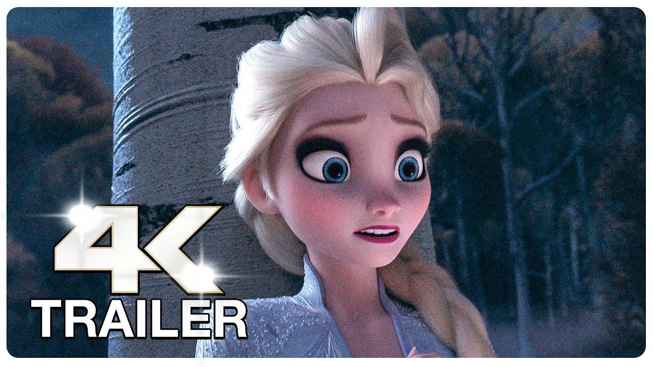 FROZEN 2 : 3 Minute Trailers (4K ULTRA HD) NEW 2019