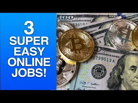 3 Easy Online Jobs 💸| Cryptocurrency Online Job😱 | Work at Home Jobs🙌| Legitimate Online Jobs